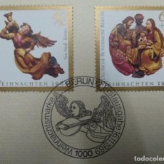 Sellos: ALEMANIA BERLÍN 1989. CHRISTMAS 1989. Lote 257728315