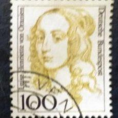 Sellos: ALEMANIA 1994. MUJERES FAMOSAS. LUISE HENRIETTE VON ORANIEN (1627-1667), ELECTOR OF BRANDENB. Lote 259931175