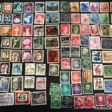 Sellos: LOTE 98 SELLOS DE ALEMANIA (USADOS) A PARTIR DE 1900. Lote 260663370