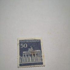 Sellos: SELLO ALEMAN, DEUTSCHE BUNDESPOST, 50, 1949. Lote 260770800