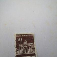 Sellos: SELLO 10 DEUTSCHE BUNDESPOST 1966. Lote 260773345