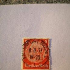 Sellos: SELLO ALEMAN, DEUTSCHES REICH, 8 HINDENBURG 1936,. Lote 261865410