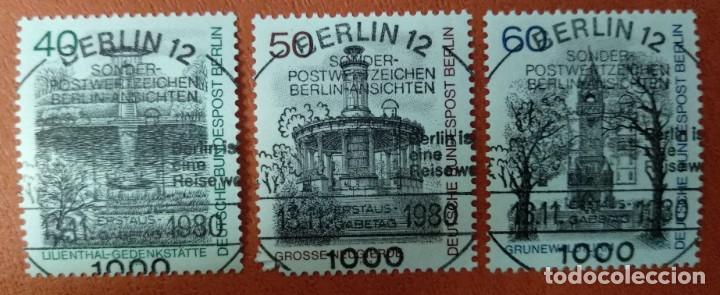 ALEMANIA BERLIN 1980. BERLIN VIEWS (3RD SERIES) (Sellos - Extranjero - Europa - Alemania)
