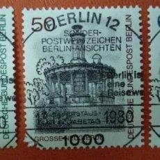 Sellos: ALEMANIA BERLIN 1980. BERLIN VIEWS (3RD SERIES). Lote 262816445