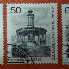 Sellos: ALEMANIA BERLIN 1980. BERLIN VIEWS (3RD SERIES). Lote 262816855