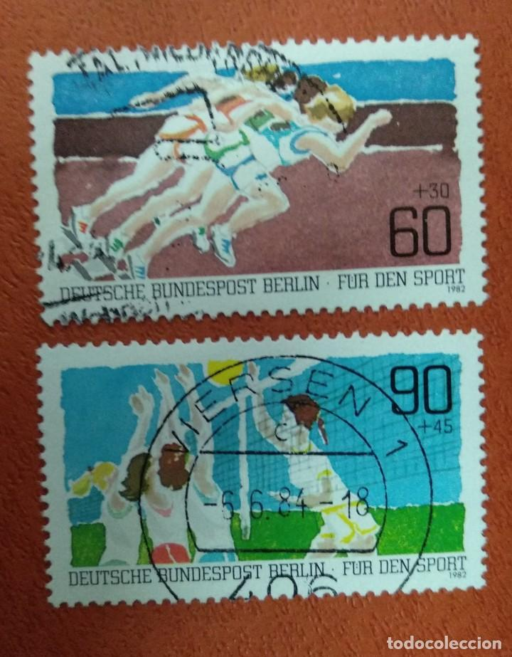 ALEMANIA BERLIN 1982. SPORTS AID (Sellos - Extranjero - Europa - Alemania)