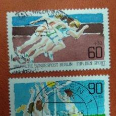 Sellos: ALEMANIA BERLIN 1982. SPORTS AID. Lote 262817720