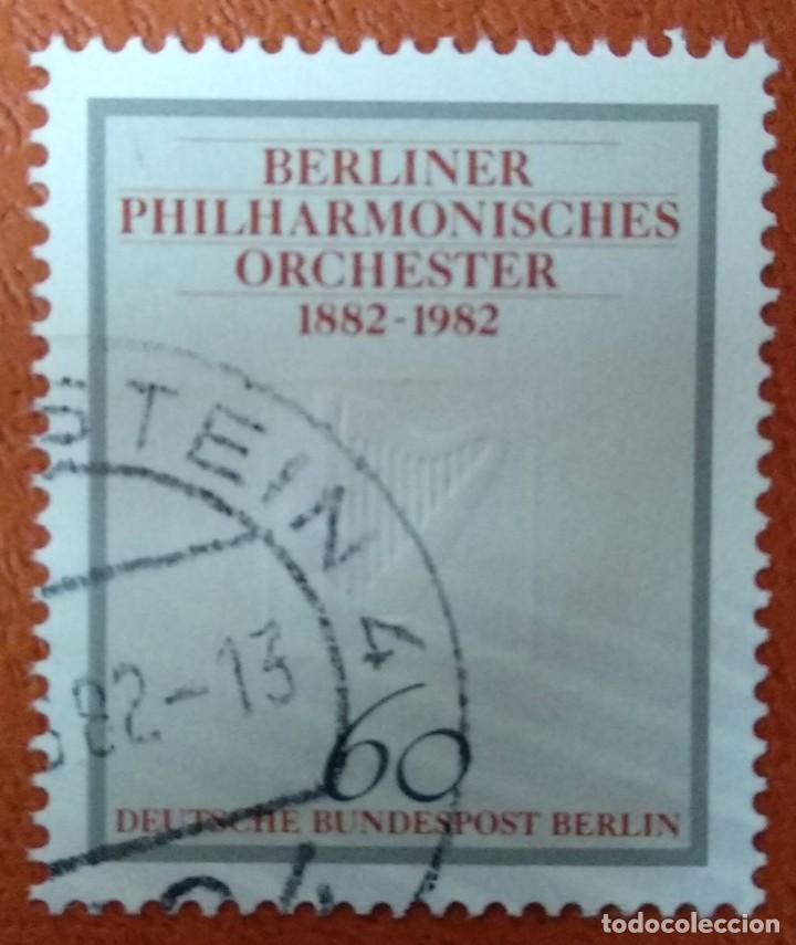 ALEMANIA BERLIN 1982. MI:DE-BE 666, (Sellos - Extranjero - Europa - Alemania)