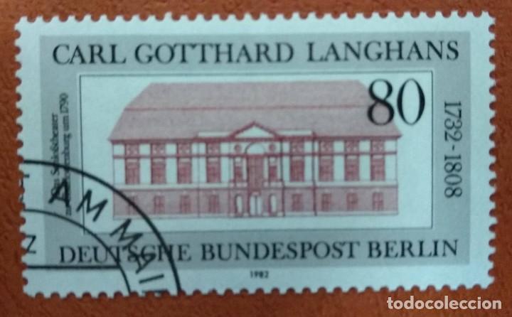 ALEMANIA BERLIN 1982. MI:DE-BE 684, (Sellos - Extranjero - Europa - Alemania)