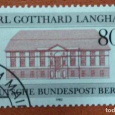 Sellos: ALEMANIA BERLIN 1982. MI:DE-BE 684,. Lote 262819785