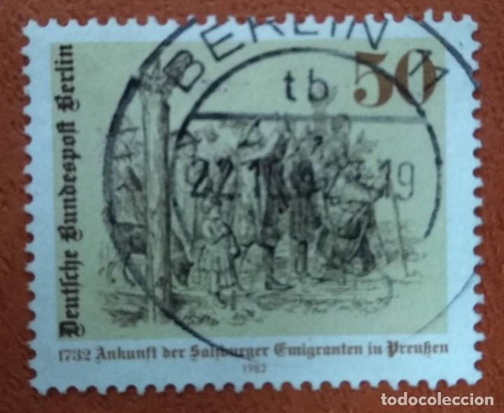 ALEMANIA BERLIN 1982. MI:DE-BE 667, (Sellos - Extranjero - Europa - Alemania)