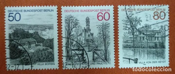 ALEMANIA BERLIN 1982. BERLIN VIEWS (4TH SERIES) (Sellos - Extranjero - Europa - Alemania)