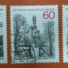 Sellos: ALEMANIA BERLIN 1982. BERLIN VIEWS (4TH SERIES). Lote 262820880