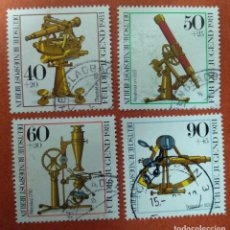 Sellos: ALEMANIA BERLIN 1981. YOUTH: OPTICAL INSTRUMENTS. Lote 262821675