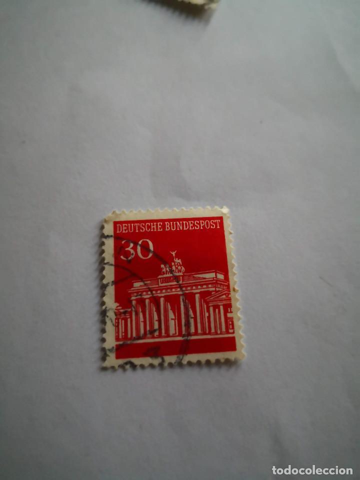 SELLO ALEMAN 30 DEUSTCHE BUNDESPOST 30 (Sellos - Extranjero - Europa - Alemania)