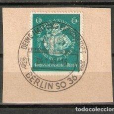 Sellos: ALEMANIA IMPERIO. 1944. YT 816. Lote 262911700