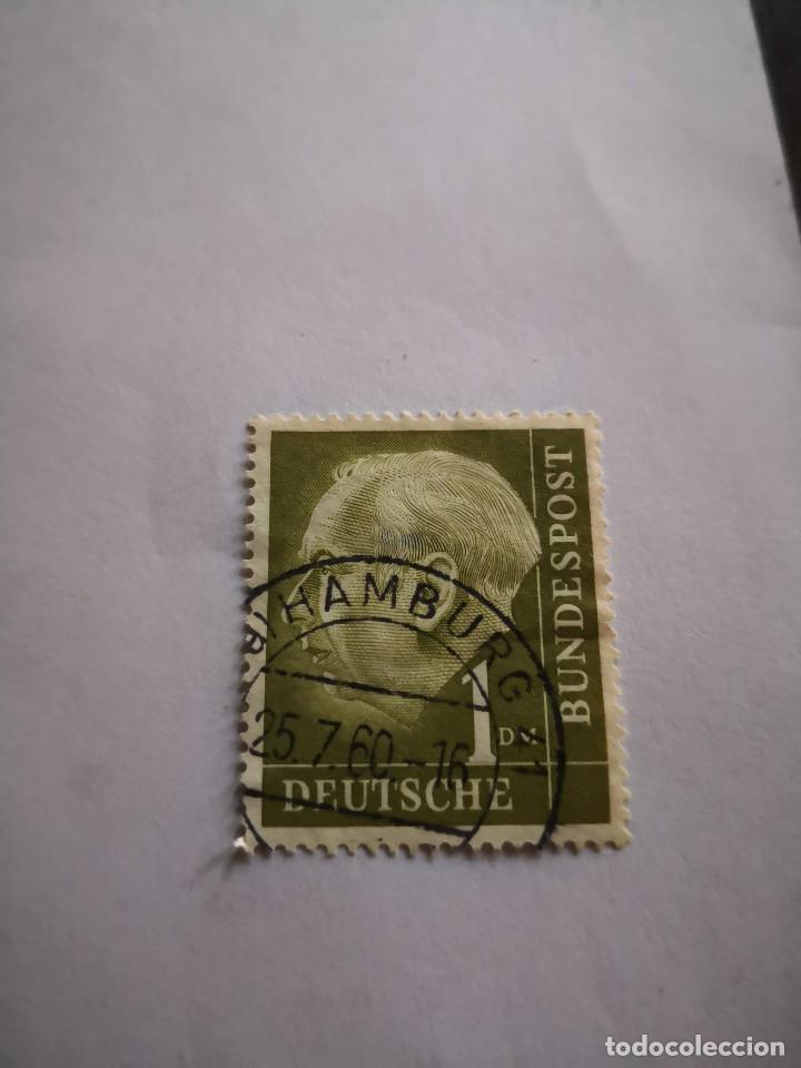 SELLO DEUTSCHE BUNDESPOST 1 SELLO ALEMANIA (Sellos - Extranjero - Europa - Alemania)