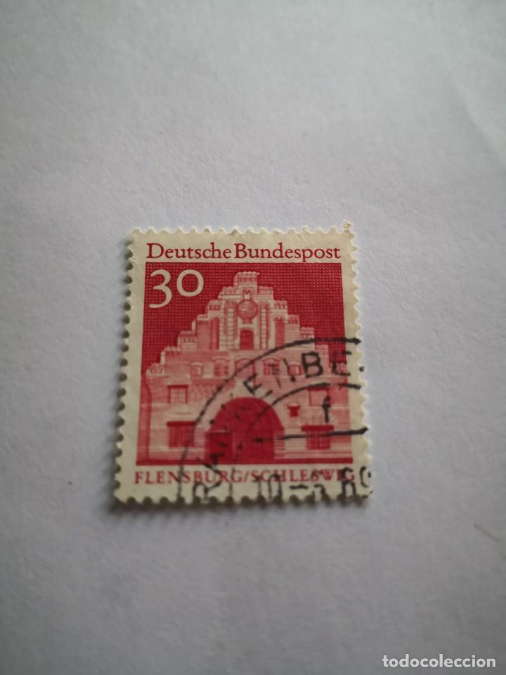 SELLO DEUTSCHE BUNDESPOST 30 SELLO ALEMANIA (Sellos - Extranjero - Europa - Alemania)