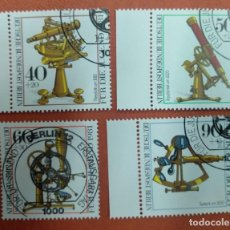 Sellos: ALEMANIA BERLIN 1981. YOUTH: OPTICAL INSTRUMENTS. Lote 263195570