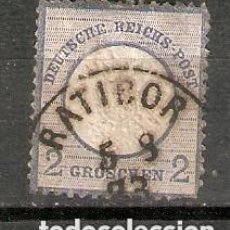 Sellos: ALEMANIA IMPERIO. 1872. YT 17. Lote 263689285