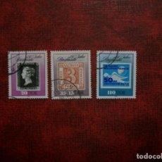 Sellos: LIQUIDACION-ALEMANIA ORIENTAL-1990-SERIE COMPLETA EN USADO/º/. Lote 263691445