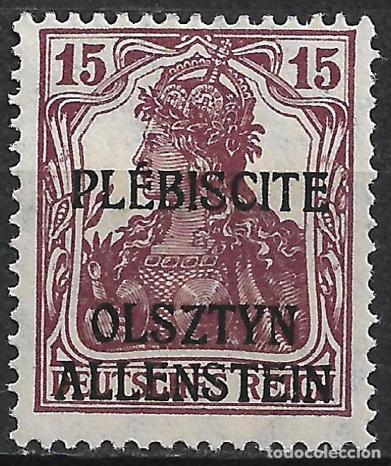 ALEMANIA ALLENSTEIN 1920 MICHEL 4B * 300€ - 1/42 (Sellos - Extranjero - Europa - Alemania)