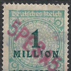 Sellos: ALEMANIA NEUGUINEA 1923 - 5 PESA 5 * - 18/26. Lote 264441744
