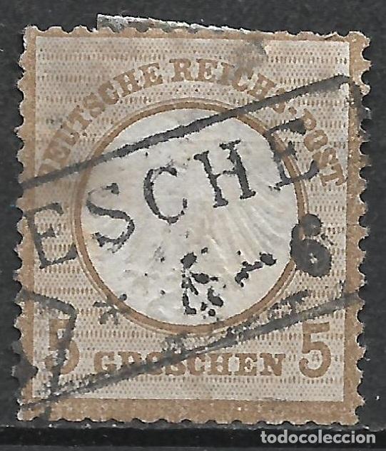 ALEMANIA 1872 MICHEL 6 USADO 120 € - 2/18 (Sellos - Extranjero - Europa - Alemania)