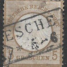Sellos: ALEMANIA 1872 MICHEL 6 USADO 120 € - 2/18. Lote 264451999