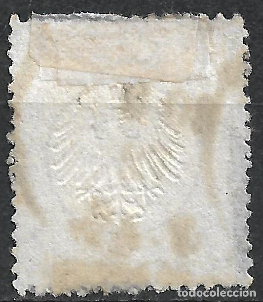 Sellos: ALEMANIA 1872 MICHEL 10 USADO 120 € - 18/8 - Foto 2 - 264453039