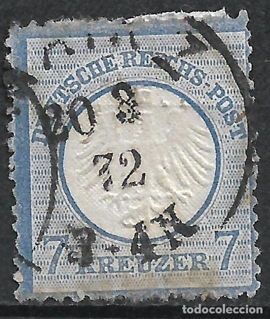 ALEMANIA 1872 MICHEL 10 USADO 120 € - 18/8 (Sellos - Extranjero - Europa - Alemania)