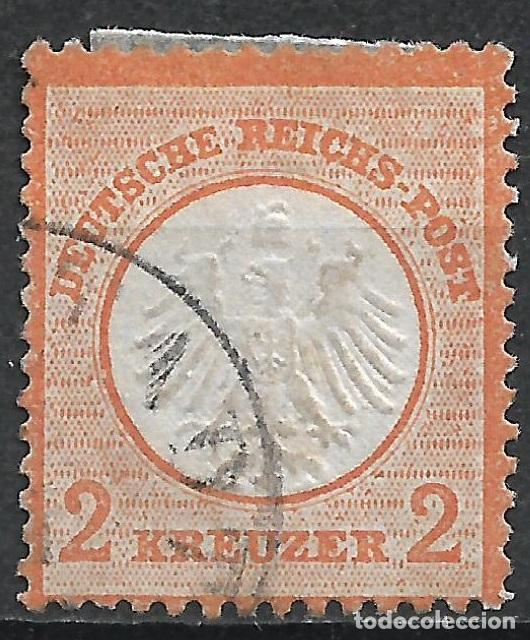 ALEMANIA 1872 MICHEL 15 USADO - 18/26 (Sellos - Extranjero - Europa - Alemania)
