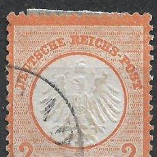 Sellos: ALEMANIA 1872 MICHEL 15 USADO - 18/26. Lote 264456209