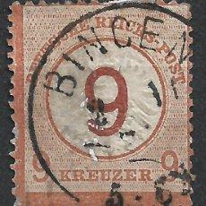 Sellos: ALEMANIA 1872 MICHEL 30 USADO 600€ - 18/26. Lote 264500279