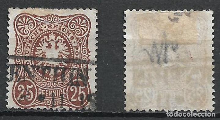 ALEMANIA 1877 MICHEL 25B USADO 130 € - 2/18 (Sellos - Extranjero - Europa - Alemania)