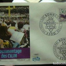 Sellos: POSAUNENTAGE DES CVJM - ALEMANIA - GERMANY- DEUTSCHLAND - SOBRE PRIMER DIA - AÑO 1982. Lote 265394204