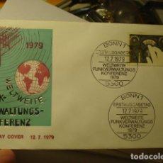 Sellos: WELTWEITE - ALEMANIA - GERMANY- DEUTSCHLAND - SOBRE PRIMER DIA - AÑO 1979. Lote 265661469