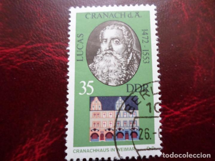 *ALEMANIA, DDR, 1973, LUCAS CRANACH, YVERT 1553 (Sellos - Extranjero - Europa - Alemania)