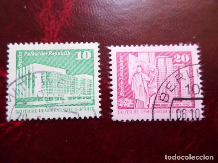 *ALEMANIA, DDR, 1973, YVERT 1560/61 (Sellos - Extranjero - Europa - Alemania)