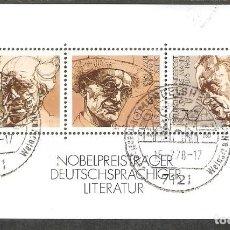 Sellos: ALEMANIA. 1978. HOJITA YT 15. Lote 268827614