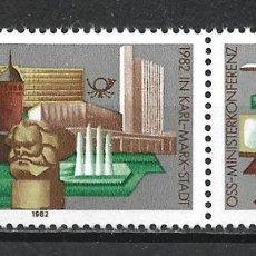 Sellos: ALEMANIA DDR 1982 SERIE COMPLETA ** MNH - 2/43. Lote 268910234
