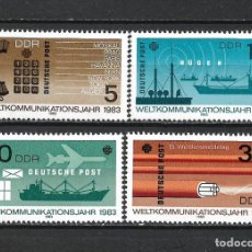 Sellos: ALEMANIA DDR 1983 SERIE COMPLETA ** MNH - 2/43. Lote 268911229