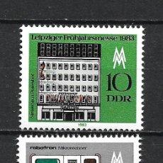 Sellos: ALEMANIA DDR 1983 SERIE COMPLETA ** MNH - 2/43. Lote 268911239
