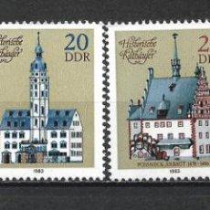 Sellos: ALEMANIA DDR 1983 SERIE COMPLETA ** MNH - 2/43. Lote 268911269