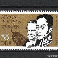 Sellos: ALEMANIA DDR 1983 SERIE COMPLETA ** MNH - 2/43. Lote 268911364