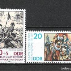 Sellos: ALEMANIA DDR 1983 SERIE COMPLETA ** MNH - 2/43. Lote 268911384