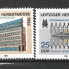 Sellos: ALEMANIA DDR 1983 SERIE COMPLETA ** MNH - 2/44. Lote 268913054