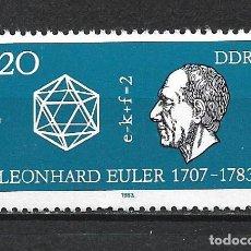 Sellos: ALEMANIA DDR 1983 SERIE COMPLETA ** MNH - 2/44. Lote 268913069