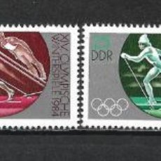 Sellos: ALEMANIA DDR 1983 SERIE COMPLETA ** MNH - 2/44. Lote 268913834