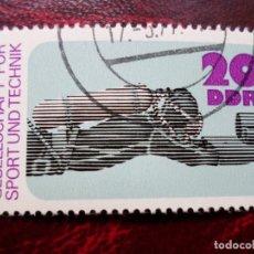 Sellos: *ALEMANIA, DDR, 1977, 25 ANIV.ORGANIZACION POR LA EDUCACION DEPORTIVA Y TECNICA, YVERT 1898. Lote 269204678